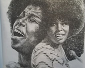 Reserved for Bevly If not Bevly Please do not purchase Original Vintage Roberta Flack Poster