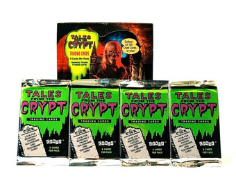 4 Tales From the Crypt Card Packs