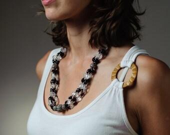 Collar granate vintage, collar marroquí, cuentas traje granate, moda Vintage de alta joyería, collar, regalo para mujer, moda