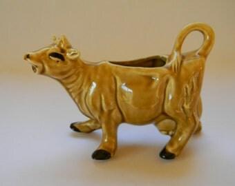 COW, Vintage Brown Cow Creamer