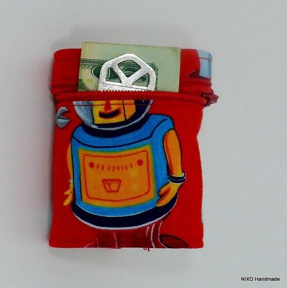 Robot wrist wallet by NIXO Handmade