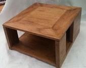 reclaimed oak Commisssioned amp box