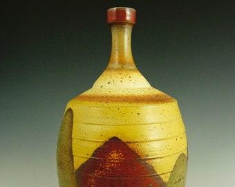 Rugged Terrain Landscape Bottle with Panels