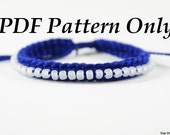 Friendship Bracelet PDF - Instant Download - Pattern Crochet Bracelet Custom Crochet Custom Bracelet