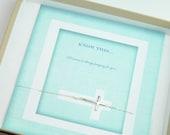Dainty Sterling Silver Side Cross Bracelet,  Holiday Ideas, Gift Ideas