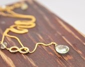 Infinity Gemstone Necklace Handmade on Etsy by Lillyput Lane Design Company,Wedding Jewelry Ideas on Etsy,Valentine's Day Gift Ideas on Etsy