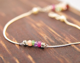 Wedding Party Gifts, Custom Birthstone Bracelets, Bridesmaid Jewelry, Bridesmaid Birthstone Jewelry