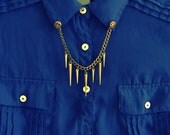 Brass Spikes Collar Tips