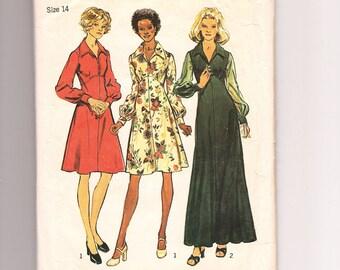 Vintage Simplicity 5968, Misses' Dress Sewing Pattern