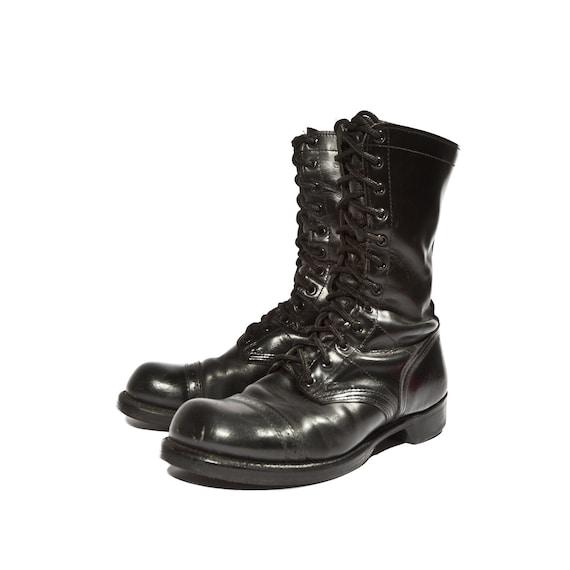 s vintage corcoran paratrooper combat boots cap toes