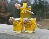 Bridal Shower Favors, Honey Favors, 10 Jars Filled FRESH & Safety Sealed