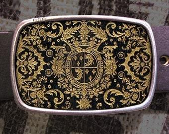 Gold Crest Belt Buckle 737