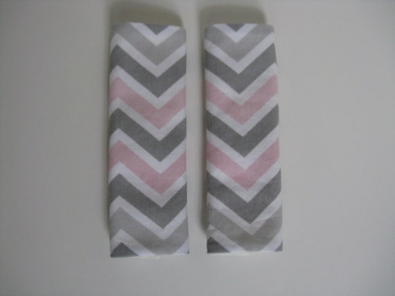 Pink And Grey Seat Covers