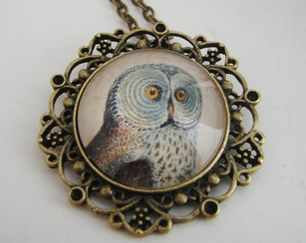 Mr. Big Eyes Pendant with Free Matching Necklace