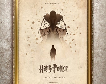 Harry Potter and the Deathly Hallows 27x40 (Theatrical Size) Movie Poster
