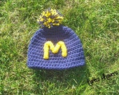 U of M Go Blue Beanie
