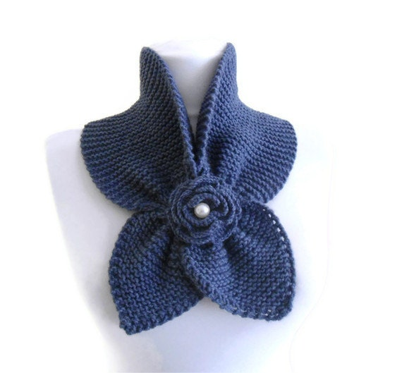 Ucla Blue, , neckwarmer,shawl,scarf,knitting,Holiday , Accessories,valentines day, gift