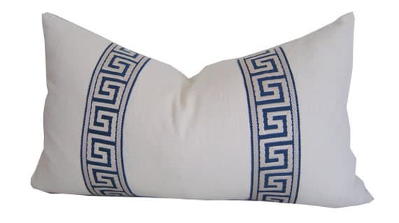 Greek Key Pillow Covers Greek Key Cushions Pillow Covers
