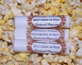 CLOSEOUT SALE Buttered Popcorn Shea Butter Lip Balm .15 Oz. No Mineral Oil No Preservatives