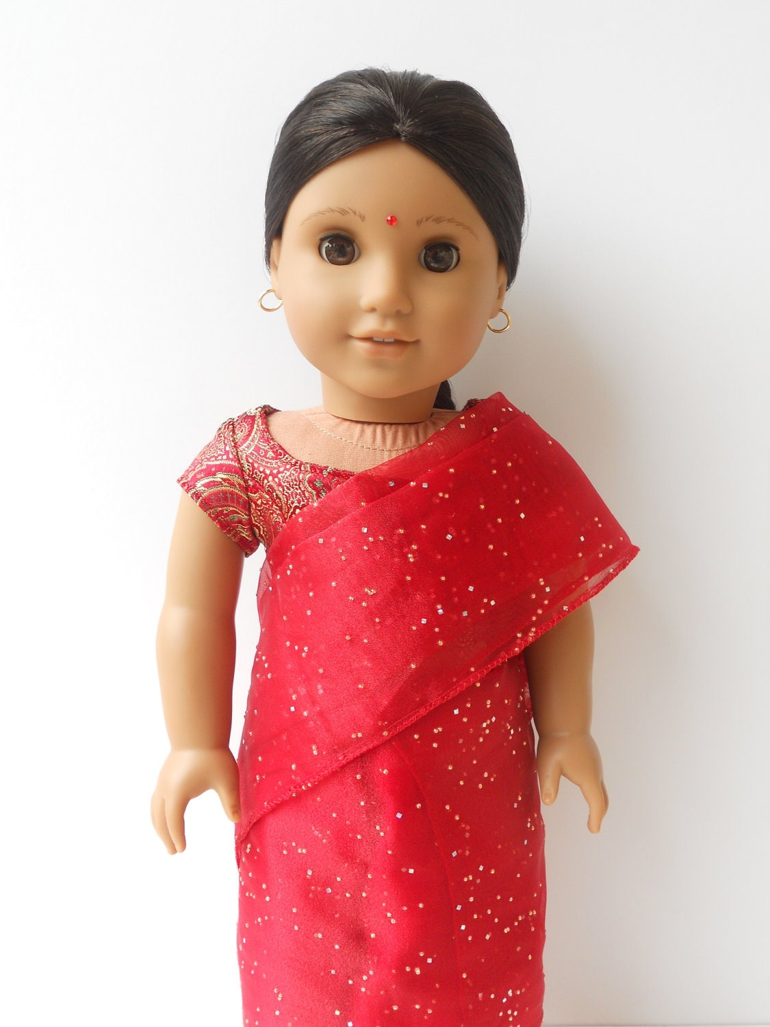 Red indian girl-7627