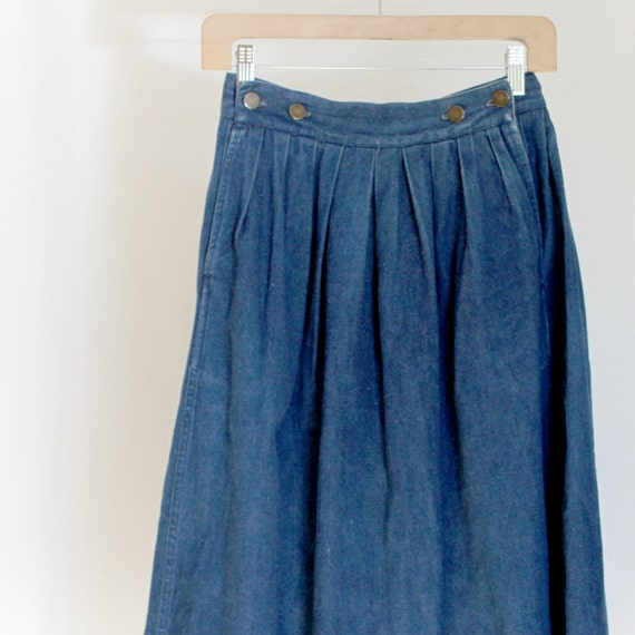 Jean Pleated Skirt 93