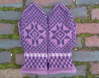 warm woolen mittens 'Grolse wanten'