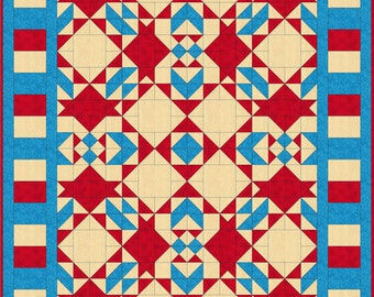 Quilt Pattern - Crabgrass