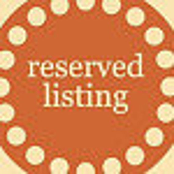Reserved for (DebbieMerlos)  See description.  Please ship with existing straw order.