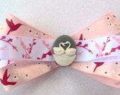 Hair Accessories, Bows,Swan Birds, cherry blossoms, Humming Birds, Love Birds Bows, Handmade Bows, Hair Bows