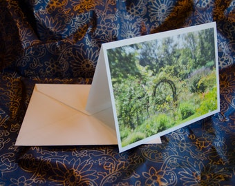 "One single, 5 1/2 x 7 3/8 Blank Photo Notecard with Envelope, ""Dreamland"""