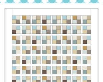 Modern Mosaic Quilt Pattern PDF