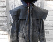 Outback Grey Canvas Coat XL