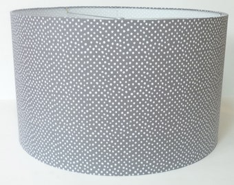popular items for gray lamp shade on etsy. Black Bedroom Furniture Sets. Home Design Ideas