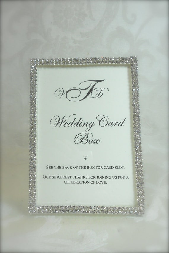 Wedding Gift Card Box Sign : Unavailable Listing on Etsy