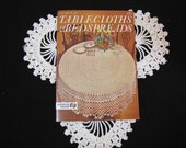 1970s Vintage Crochet Tablecloth and Bedspreads Patterns Star Book No. 24 Instruction Book Crochet Patterns
