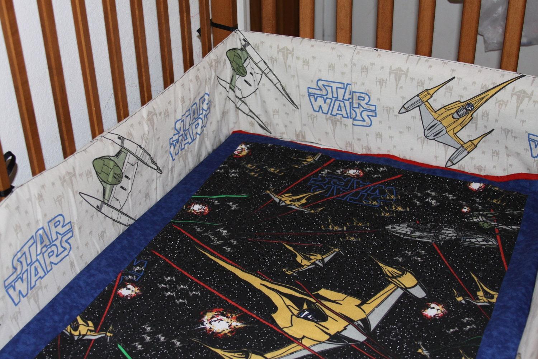 Custom Star Wars Crib Set