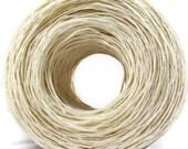 Fair Trade White Hemp Yarn, Premium European, Fingering Weight, Thin Hemp Yarn, Wholesale Available