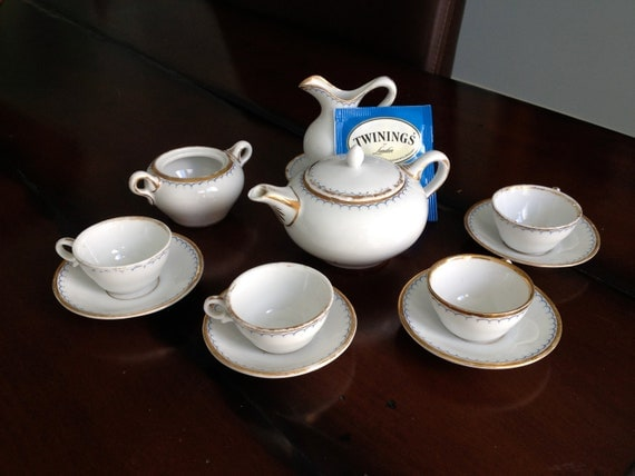 Antique Bone China Child's Tea Set