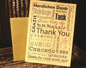 Thank You cards DIY - All Languages
