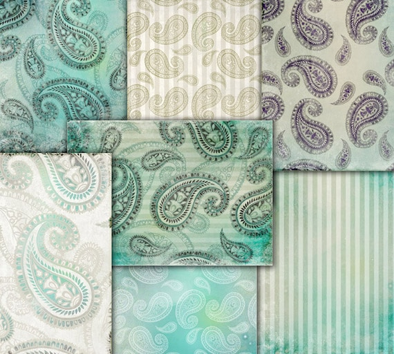 wrapping paper for decoupage decoupage papers wrapping gift paper blue green white