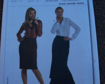 BURDA BLOUSE Pattern 7891