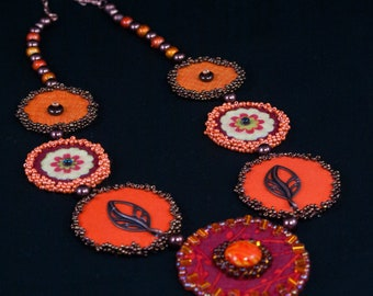 Vibrant Fall Necklace