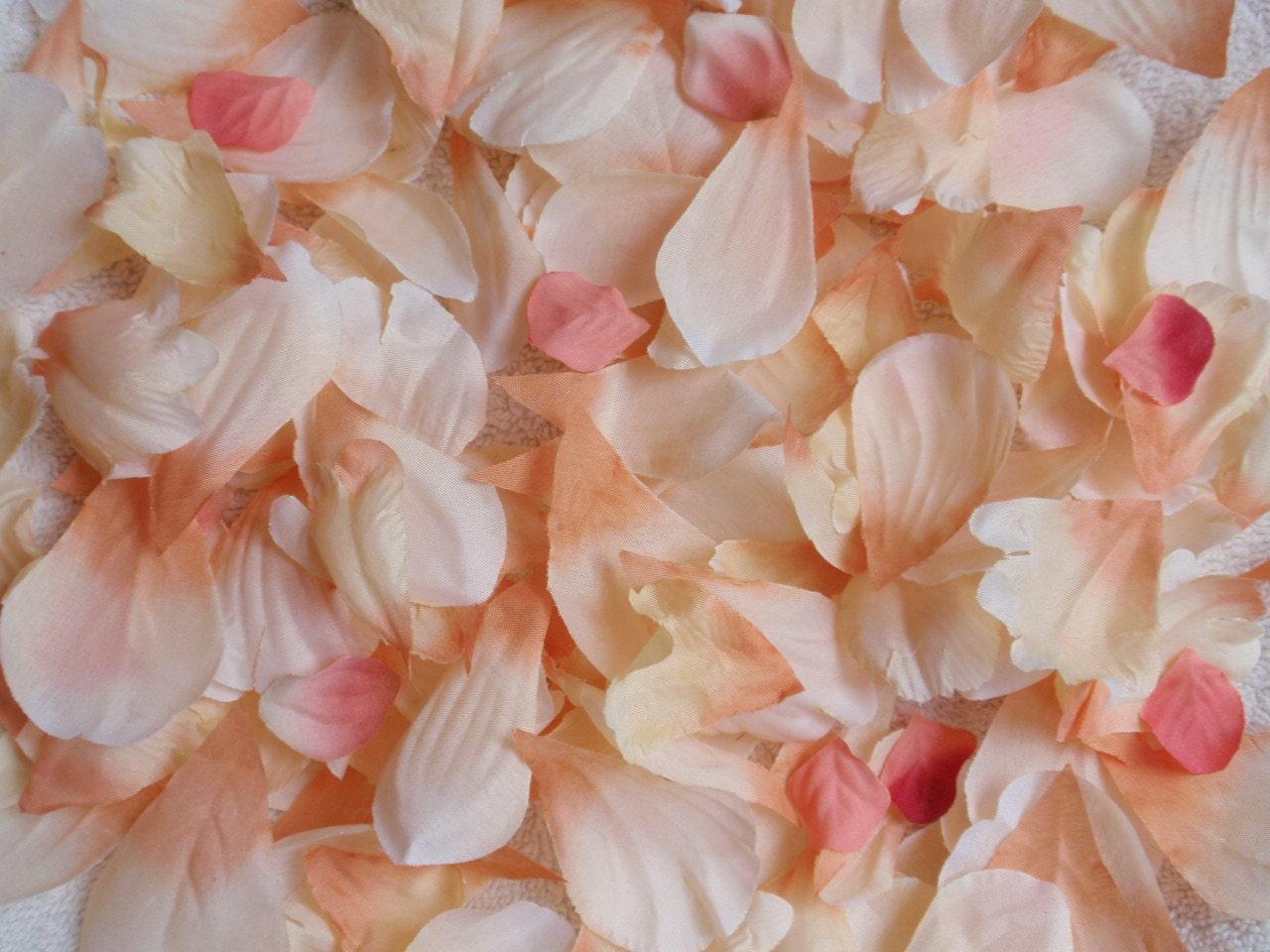 how to make silk rose petals