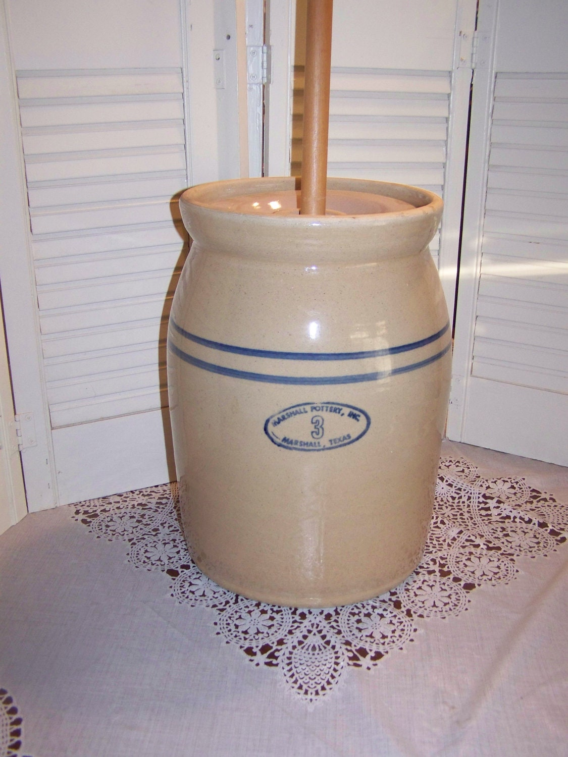 10 Gallon Ceramic Crock