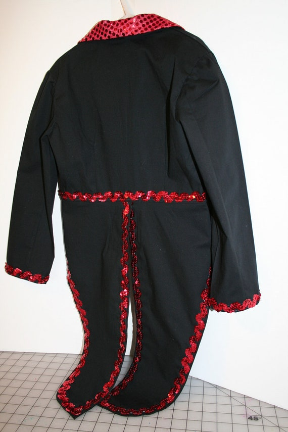 Child S Circus Ringmaster Jacket Dance Costume By