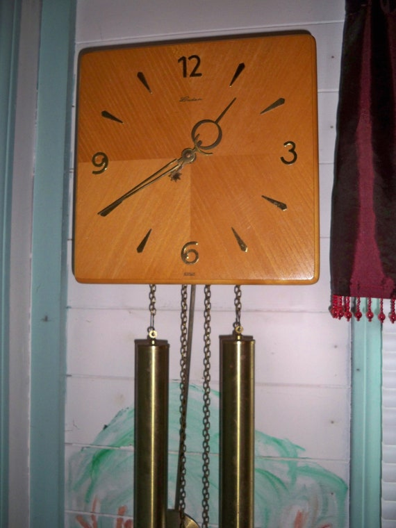 Once Driven Reviews >> Vintage German Linden 8 Day Weight Driven Clock