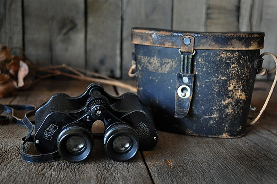 Antique Binoculars Carl Zeiss Jena 1920s