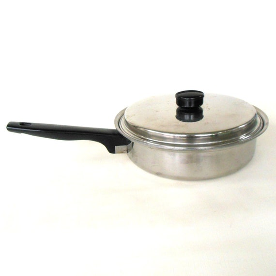 Ekco Prudential Ware Cookware Stainless Waterless 8
