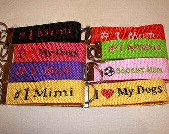Made to Order Key Fobs/Chains