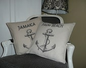 Anchor Pillow Cover - Personalized At No Extra Cost